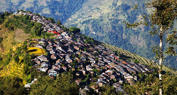 Barpak-Village-in-gorkha-of-western-Nepal