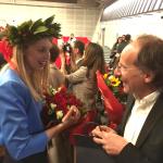 Chiara Bérard con il Dr. Nassisi